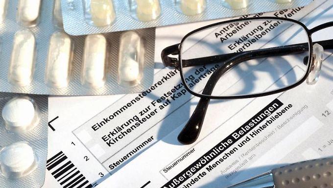 """Gesundheitsausgaben über dem jeweiligen Eigenbeitrag können unter dem Punkt """"Außergewöhnliche Belastungen"""" geltend gemacht werden."""