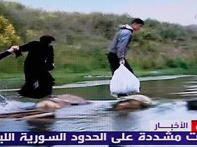 Immer mehr Syrier fliehen in den Libanon.