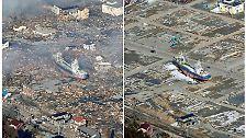 Bilderserie: Japan vor und nach der Katastrophe