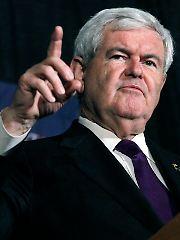 Er will auf keinen Fall aufgeben: Newt Gingrich.