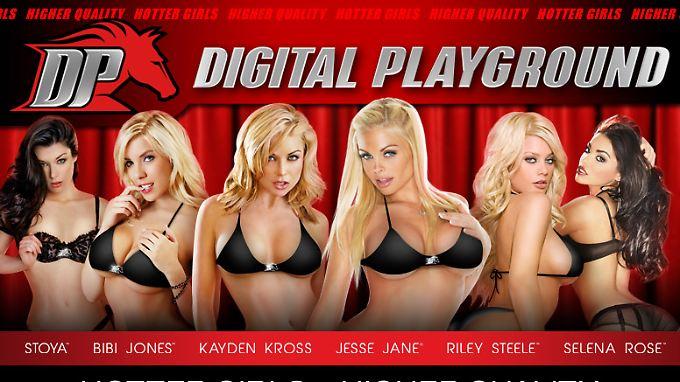 """""""Digital Playground"""" gehört angeblich zu den weltweit fünf beliebtesten Porno-Webseiten."""