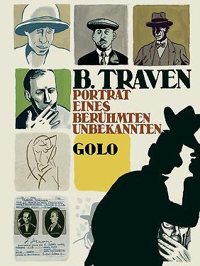 """""""B. Traven - Portrait eines Unbekannten"""" ist im Avant-Verlag erschienen, umfasst 144 Seiten im großen Hardcover und kostet 24,95 Euro (D)."""