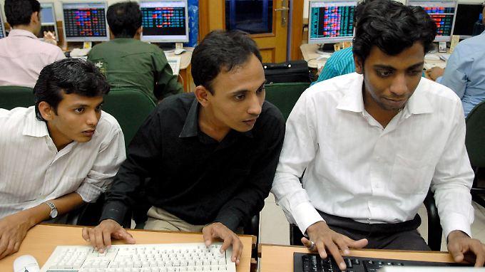 Die indische Börse schaut derzeit auf den globalen Top-Performer.