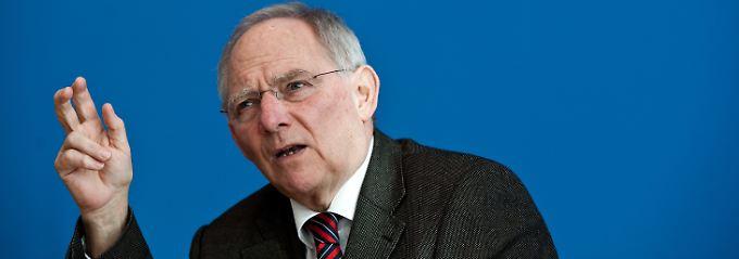 Schäuble hat in seiner Rechnung noch einige Unbekannte.