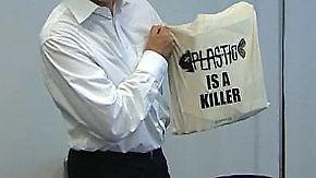 65 Plastiktüten pro Kopf pro Jahr: EU diskutiert Umweltabgabe