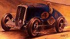 Bilderserie: Geschichte des Autobaus verpflichtet