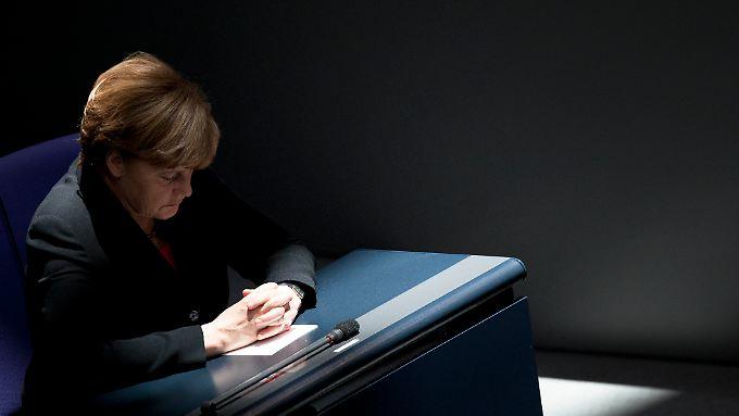 Angela Merkel droht in der Euro-Krise neuer Ärger: Die Kanzlerin braucht die Stimmen der Opposition.