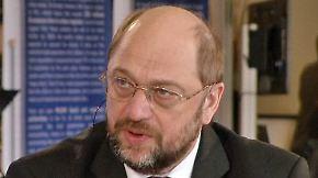 """Bleskin trifft Martin Schulz: """"Hilfe ist in unserem eigenen Interesse"""""""