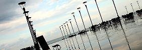 Am Strand von Batumi.