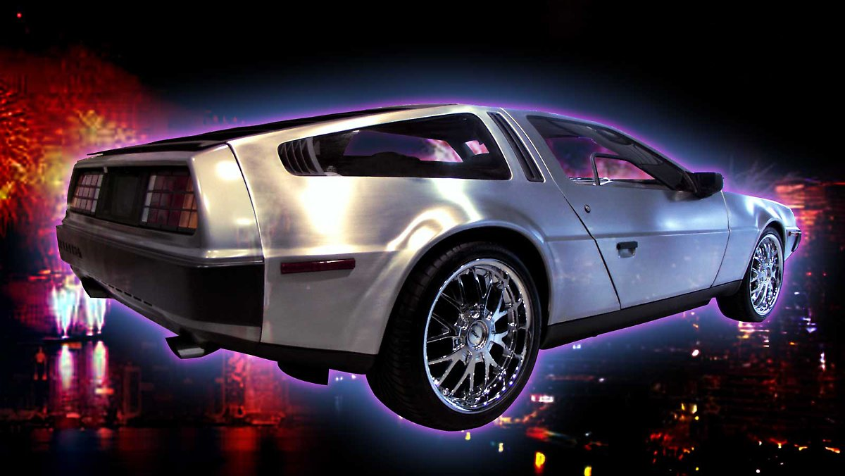 zur ck in die zukunft der delorean ist wieder da n. Black Bedroom Furniture Sets. Home Design Ideas