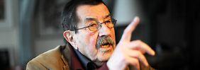 """Grass hat in einem in der """"Süddeutschen Zeitung"""" veröffentlichten Gedicht die israelische Politik gegenüber dem Iran heftig kritisiert."""