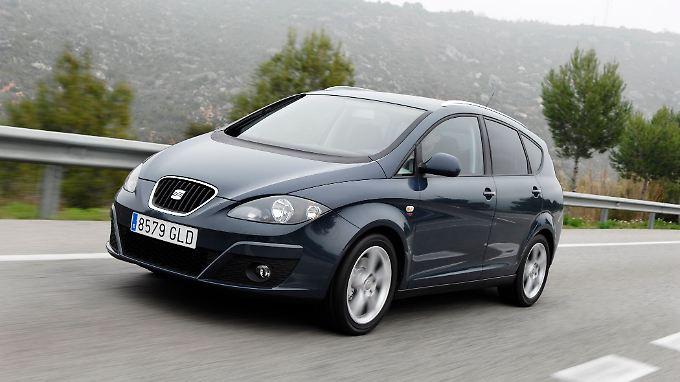 Eine flotte Alternative zum VW Touran: der Seat Altea XL.