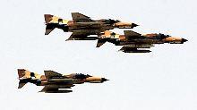 Die iranische Luftwaffe.