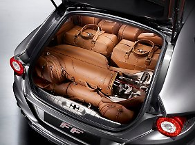 Da passt ordentlich was rein: Der Kofferraum fasst 400 Liter.