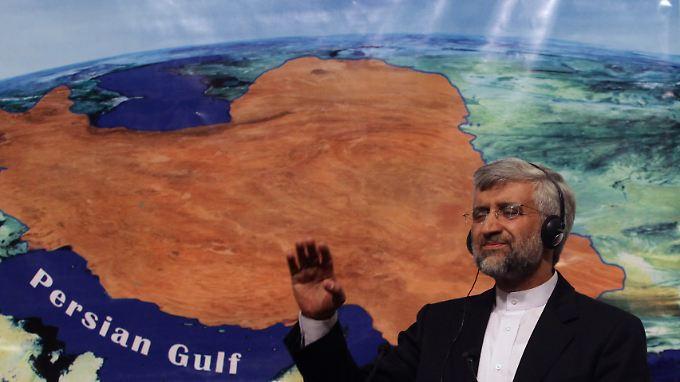 Said Dschalili saß für die iranische Seite am Verhandlungstisch.
