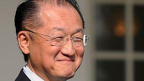 Mediziner im Kampf gegen die Armut: Kim wird neuer Weltbank-Chef
