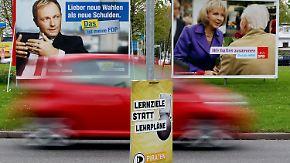 Der Countdown läuft: Kaum Wahlkampf-Getöse in NRW