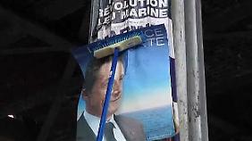 Video: Wahlkampf-Endspurt in Frankreich