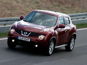 Nissan bietet den Juke mit zwei Motor- und drei Ausstattungsvarianten an.