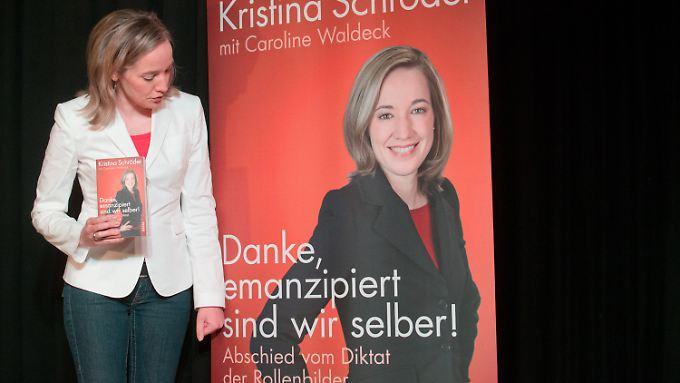 Kristina Schröder bei der Vorstellung ihres Buches.