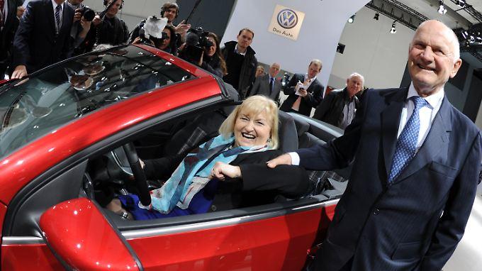 Es ist geschafft: Ferdinand und Ursula Piëch sind nun gemeinsam im VW-Aufsichtsrat.