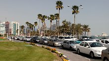 Reich durch Erdgas: Doha, Hauptstadt des kleinen Emirats Katar.