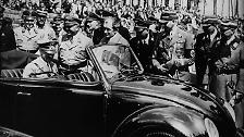Zwischen 1940 und Kriegsende verließen nur 640 zivile Neuwagen das Werk.