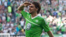 Glänzende Aussichten? Patrick Helmes, VfL Wolfsburg.