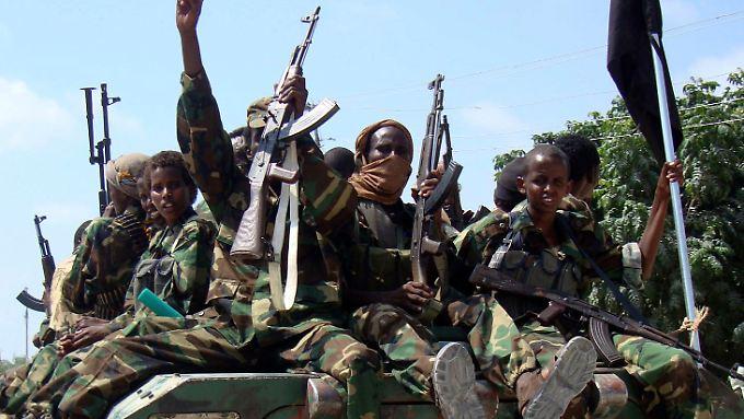 Al-Schabaab kämpft für die Errichtung eines islamischen Staates am Horn von Afrika. (Archivbild)