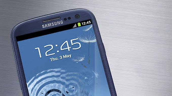 Rennen um die Smartphone-Krone: Samsungs Galaxy S3 jagt das iPhone