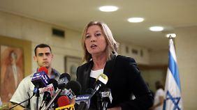Zipi Livni hat ihr Mandat niedergelegt. Was wird sie im Wahlkampf machen?