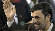 Aus der Sicht Ahmadinedschads ist alles gesagt.