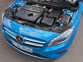 Gleich zwei Diesel bietet Mercedes an. Einer von beiden stammt von Renault.