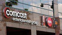 GE erhält 6,5 Mrd. Dollar von Comcast.