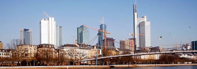 Klein, aber viele Besucher: Frankfurt am Main.