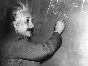 Auch Einstein wurde für seine Relativitätstheorie heftig angefeindet.