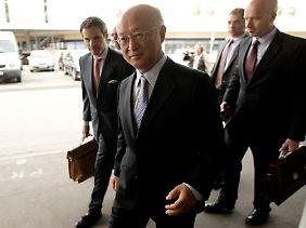 """IAEA-Chef Amano: """"Nichts ist sicher, aber ich bleibe positiv gestimmt."""""""