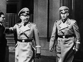Himmler und Heydrich 1938.