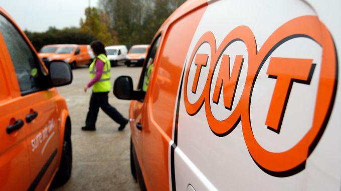 Sucht die Offensive: Der niederländische Postdienstleister TNT.