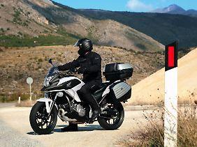 Mit der NC 700 X macht Honda ein wirklich günstiges Angebot.