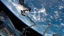 """Ein ganz privates Rendezvous: """"Dragon"""" versorgt die ISS"""