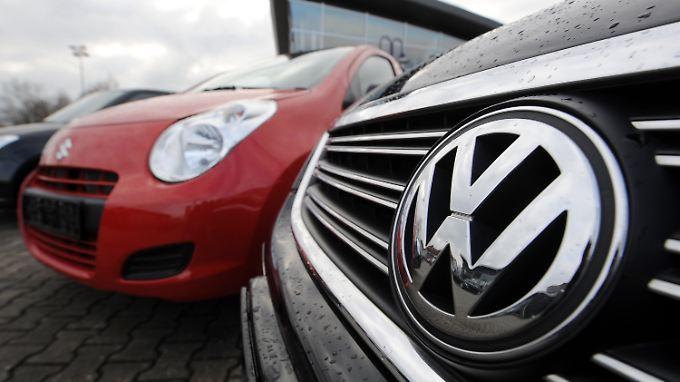 VW verbucht im November mehr Neuzulassungen als im Vorjahresmonat.