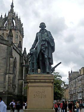 Adam Smith gründete nicht nur die Ökonomie, sondern auch den Mythos.