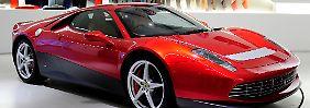 Der Ferrari SP 12 EC ist einen Einzelanfertigung für den Musiker.