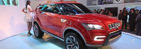 Die Studie XA Alpha gibt einen Ausblick auf das künftige Design von Suzuki.