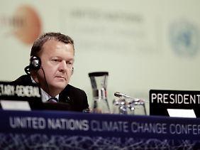 Gastgeber Lars Løkke Rasmussen war häufig überfordert.