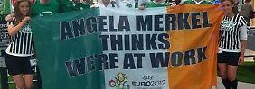 """""""Merkel denkt, wir arbeiten"""": Iren veräppeln die Kanzlerin"""
