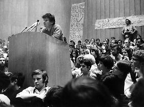 Früher war die FU ein Zentrum der 68er-Bewegung.