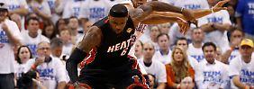 Er war der Matchwinner: LeBron James.