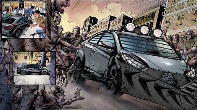 Wenn die Zombies angreifen, gibt es nur eins: das Weite suchen!